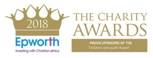 Sponsor of the Children & Youth Award at the 2018 Charity Awards - Epworth Investment